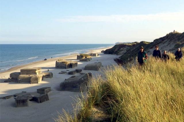 Geschichtsreise zum Atlantikwall in Dänemark