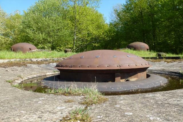 Frankreich - Elsass-Lothringen und der Kampf um die Maginot-Linie