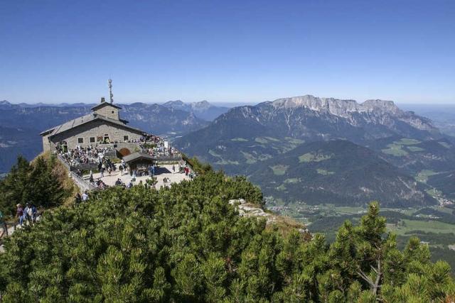 12. History-Reisetreffen in München und Berchtesgaden, Walhalla bei Donaustauf