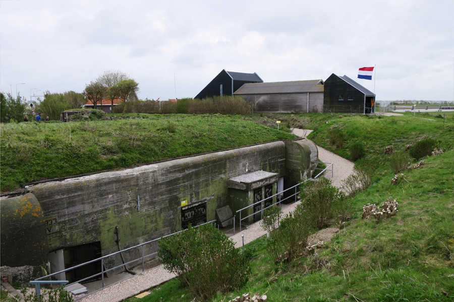 Niederlande - Atlantikwall, Panzerforts und Schlacht um Arnheim