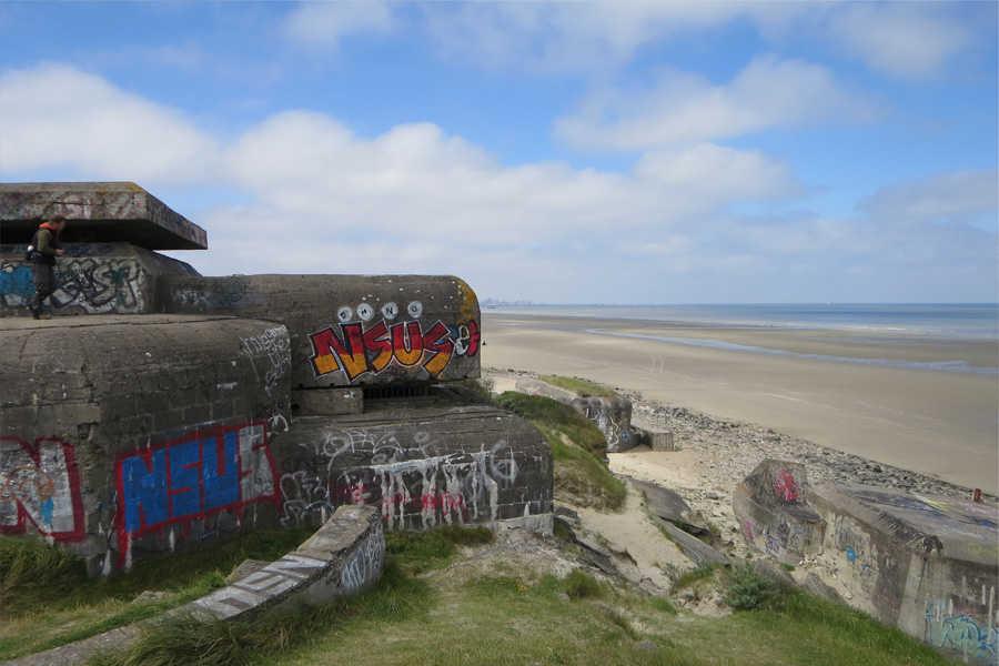 Der Atlantikwall an der französischen Kanalküste und die V-Waffen-Abschussbasen