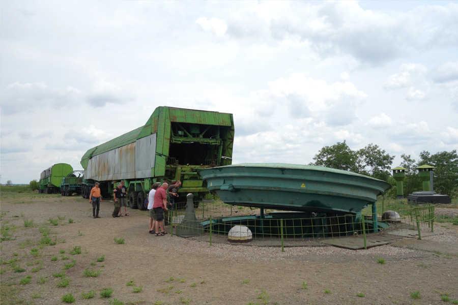 Tschernobyl , Schlacht um Kiew, Stalin-Linie FHQ Werwolf, sowjetische Atomraketenbasis