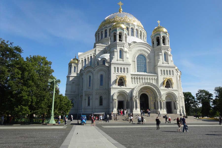 Russland - Die Anlagen der Küstenverteidigung rund um St. Petersburg, Festung Kronstadt und historische Innenstadt